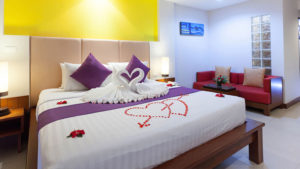 Superior Room with Patong beach City View